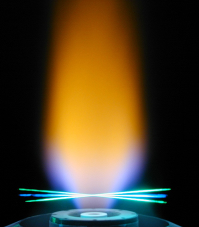 Oxy-fuel: an alternative combustible made by burning pure oxygen.