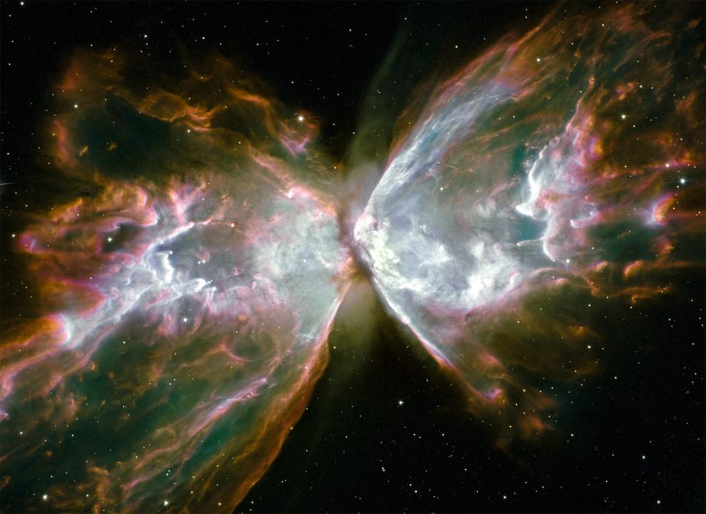 The Butterfly Nebula NGC 6302  HubbleSite