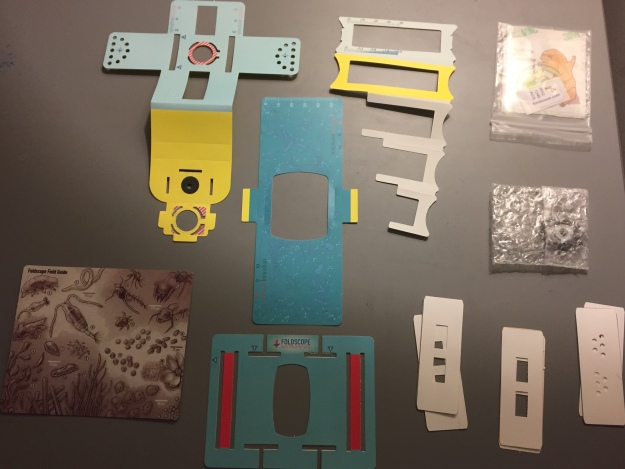 FOLDSCOPE (piezas)